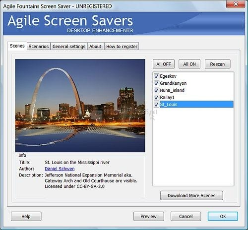 100 Agile Fountains Screen Saver Download Free For Windows