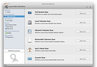 screenshot-Avast! Free Antivirus for Mac-2