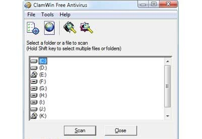 screenshot-ClamWin-1