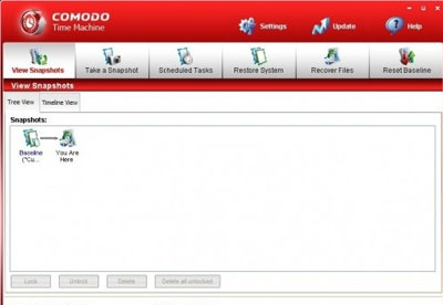 screenshot-Comodo Time Machine-1