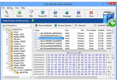 screenshot-Free Data Recovery Software-1