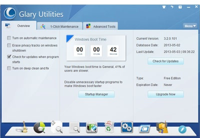 screenshot-Glary Utilities-1