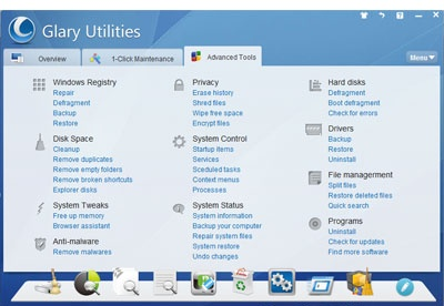 screenshot-Glary Utilities-2