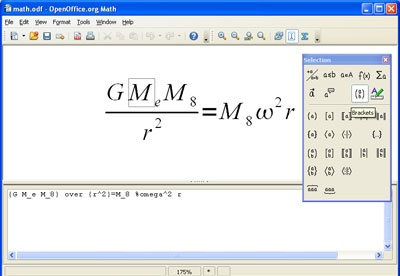 screenshot-OpenOffice.org Math-1