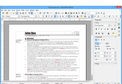 screenshot-OpenOffice.org Writer-1