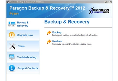 screenshot-Paragon Backup and Recovery-1