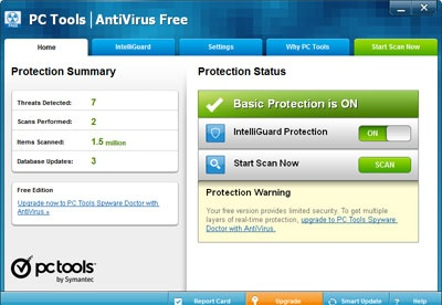 screenshot-PC Tools AntiVirus-1