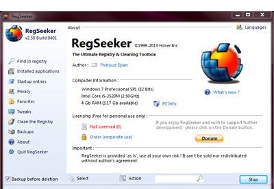 screenshot-RegSeeker-1