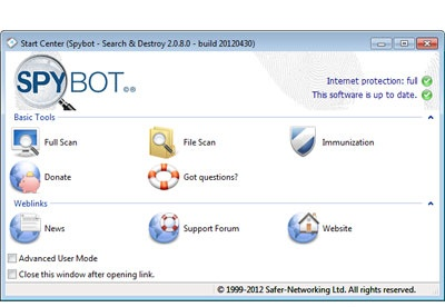 screenshot-Spybot-1