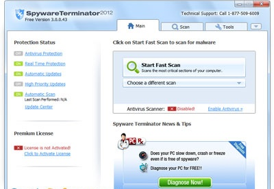screenshot-Spyware Terminator-1