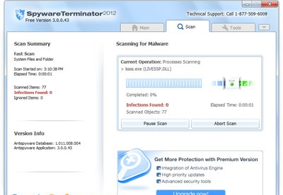 screenshot-Spyware Terminator-2