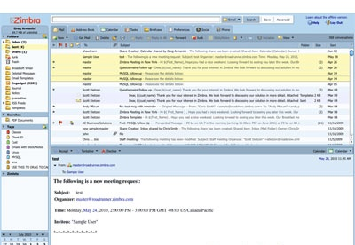 screenshot-Zimbra Desktop-1