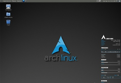 screenshot-Arch Linux-1