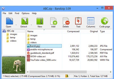 screenshot-Bandizip-1