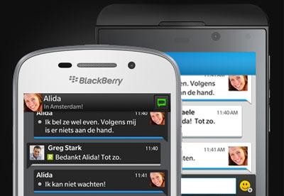Blackberry Messenger d...