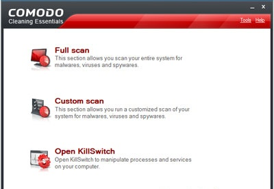 screenshot-Comodo Cleaning Essentials-1