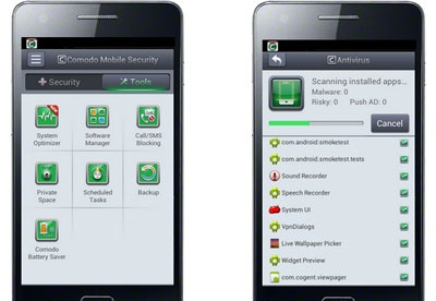 screenshot-Comodo Mobile Security-2