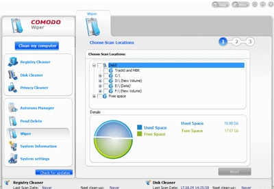 screenshot-Comodo System Cleaner-2