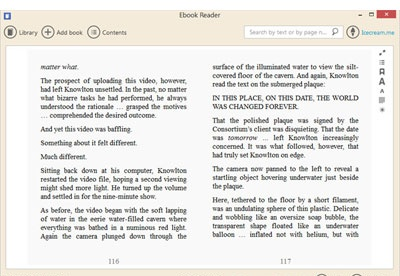screenshot-IceCream Ebook Reader-2