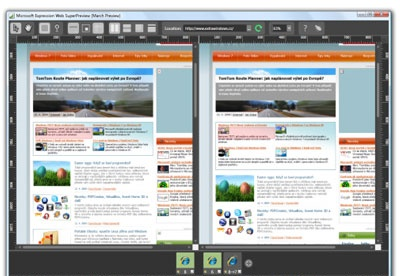 screenshot-Microsoft Expression Web SuperPreview-1