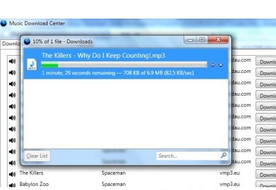 screenshot-Music Download Center-2