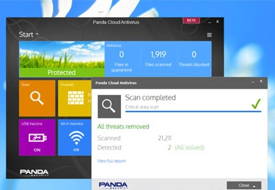 screenshot-Panda Cloud Antivirus-1