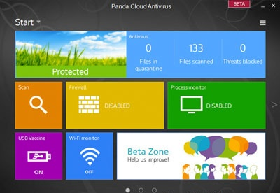screenshot-Panda Cloud Antivirus-2