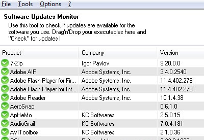 screenshot-SUMo Software Update Monitor-2