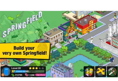 screenshot-The Simpsons Tapped Out-1